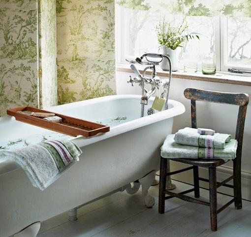 Imagenes De Baño Vintage:Fotos de baños rústicos: el encanto tradicional – unacasabonita