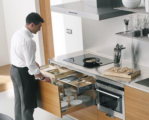 Cocinas modernas de santos unacasabonita - Cocinas espectaculares modernas ...