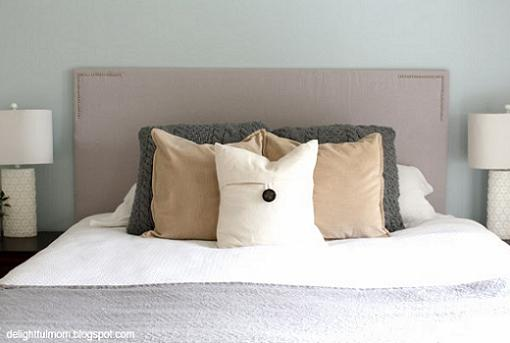 C mo hacer un cabecero de cama unacasabonita - Telas para forrar cabecero cama ...