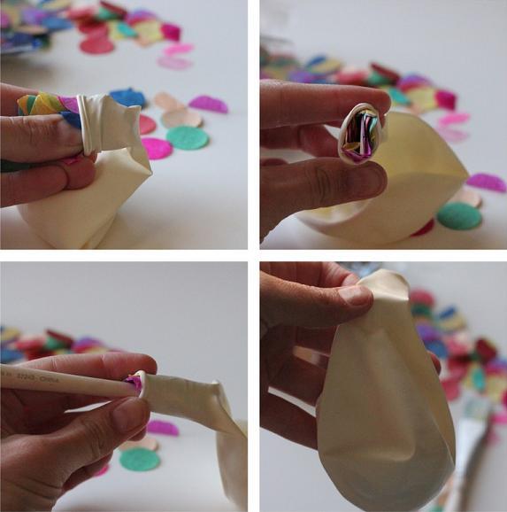 Decoración de globos DIY