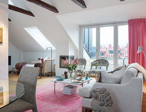 Decoraci n vintage para un apartamento o tico unacasabonita for Decoracion piso vintage