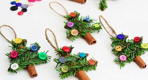 manualidades de navidad adornos para el arbol