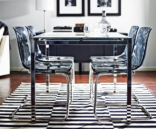 Decoracion mueble sofa ikea mesas plegables comedor - Sillas salon conforama ...