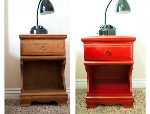 C mo pintar muebles de madera unacasabonita - Pintar sillas de madera ...