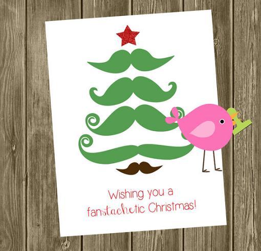 Postales de navidad originales unacasabonita - Como hacer una felicitacion de navidad original ...