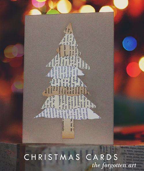 Postales de navidad originales