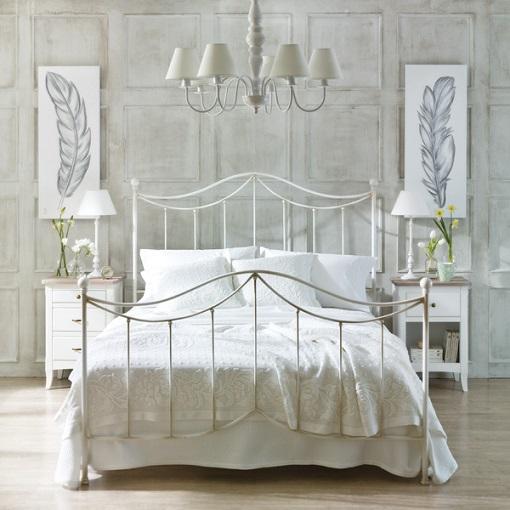Cabeceros de forja las camas m s vintage unacasabonita - Cabecero de cama en ingles ...