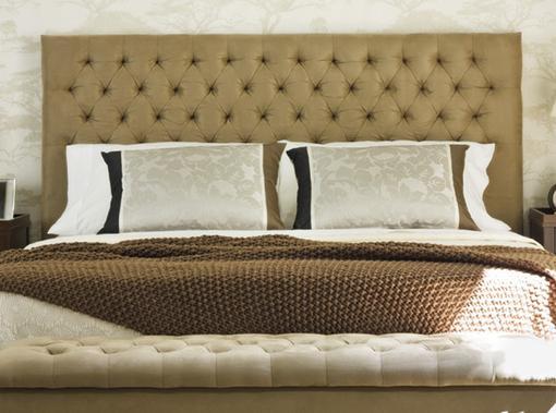Cabeceros tapizados del corte ingl s para camas de - Telas para cortinas el corte ingles ...
