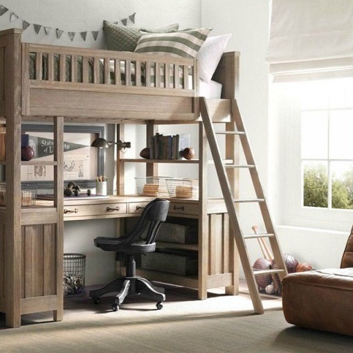 Ideas para la decoraci n de dormitorios juveniles for Camas en alto juveniles