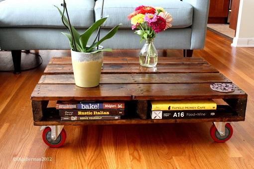 Cmo hacer muebles con palets una tendencia en boga unacasabonita