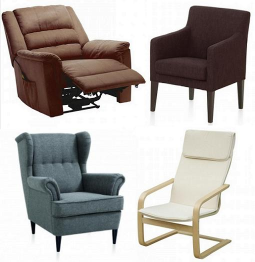 Sof s y sillones de conforama para decorar tu sal n - Sillones para lectura ...