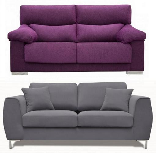 Sof s y sillones de conforama para decorar tu sal n - Sofas de 2 y 3 plazas ...