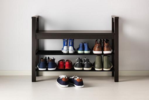 zapateros de ikea para tener tus zapatos en orden