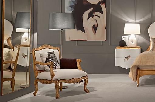 Muebles r sticos y vintage para tu dormitorio unacasabonita - Butacas para dormitorio ...