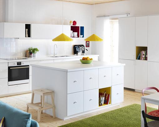 8 nuevas series y muebles de ikea para decorar tu casa for Muebles blancos ikea
