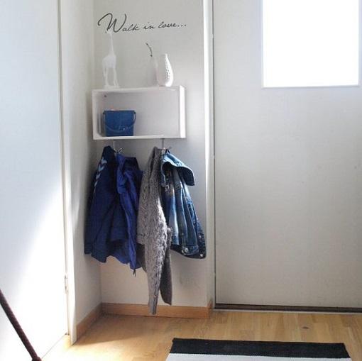 Recibidores modernos ideas para espacios peque os unacasabonita - Recibidores pequenos modernos ...