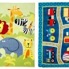 5 ideas para sacar partido del papel pintado en el - Alfombras leroy merlin infantiles ...