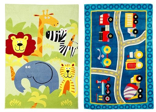 10 alfombras infantiles de leroy merlin para el dormitorio de los ni os unacasabonita - Alfombras lavables infantiles ...