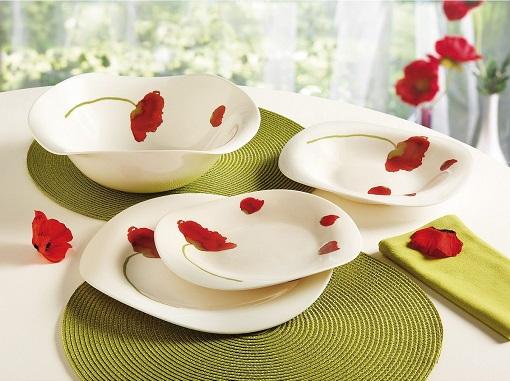 Vajillas luminarc platos y vasos modernos y resistentes unacasabonita - Vajillas carrefour 2016 ...