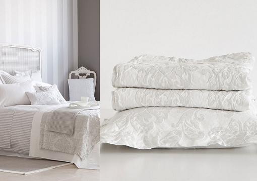Nuevas colchas de zara home para camas de matrimonio e - Papel pintado zara home ...