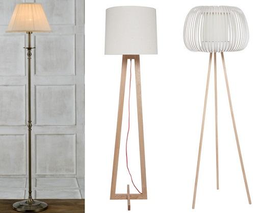 lámparas de pie el corte inglés