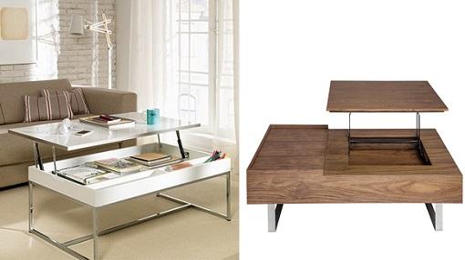 El corte ingles mesas de centro este producto forma parte for Mesas auxiliares elevables