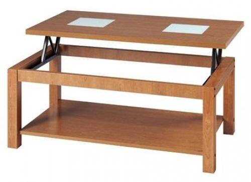 Mesas de centro elevables modernas pr cticas y baratas for Mesas de madera baratas precios