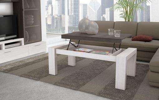 Mesas de centro modernas mesas de centro elevables for Mesas de centro elevables y extensibles baratas