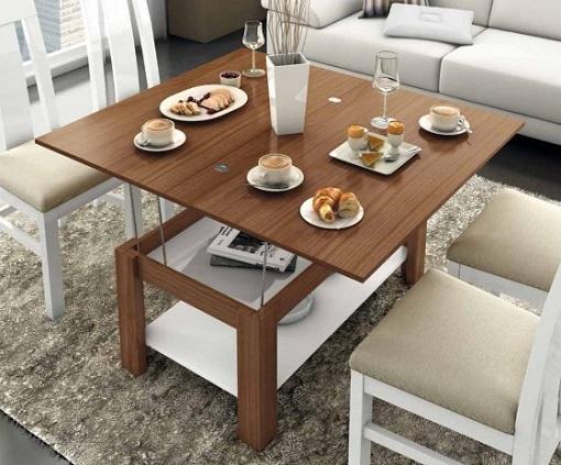 Mesas de centro elevables modernas, pru00e1cticas y baratas para comer en ...