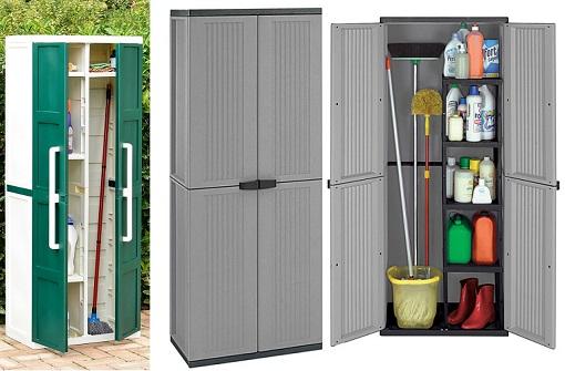 Nuevos armarios escoberos para guardar los utensilios de for Armario para balcon exterior