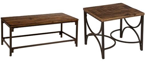 10 muebles p rtico para darle un toque diferente a tu - Mesas de centro y auxiliares ...