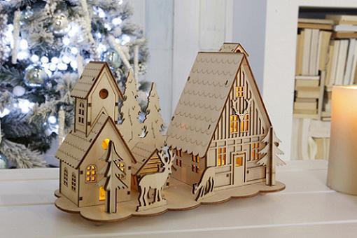 adornar la casa de navidad figuras