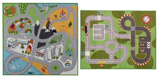 Dibujos carreteras para ni os imagui - Alfombras para jugar ninos ...