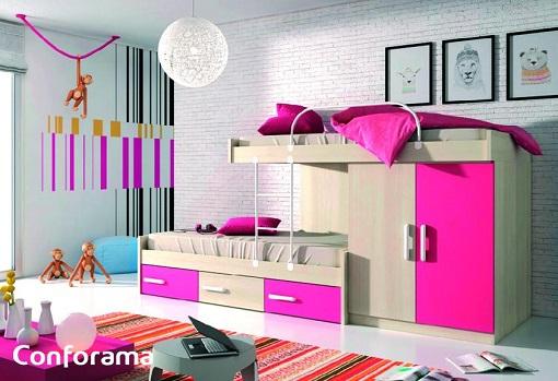 Cat logo conforama 2015 con nuevas ideas para decorar tu for Muebles juveniles conforama