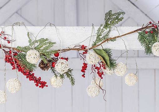 Guirnaldas de navidad para decorar tu casa y el rbol for Luces de navidad leroy merlin