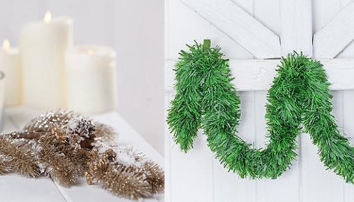 Guirnaldas de navidad para decorar tu casa y el rbol - Guirnaldas de navidad ...