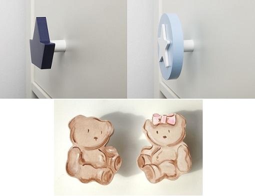 Tiradores infantiles para dar un toque alegre a los muebles de los ni os unacasabonita - Tiradores para muebles infantiles ...