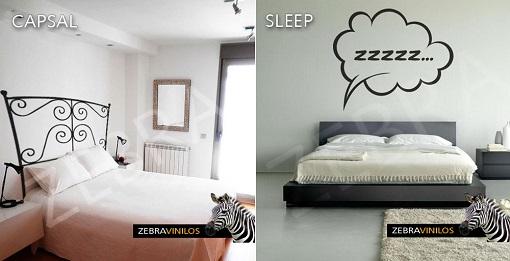 vinilos dormitorios