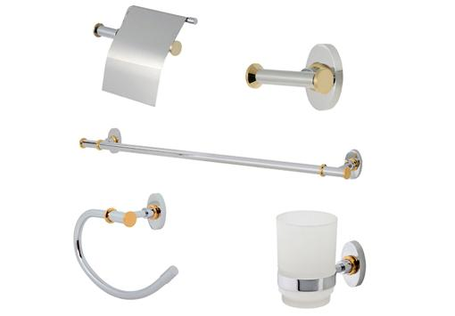 accesorios baño pared