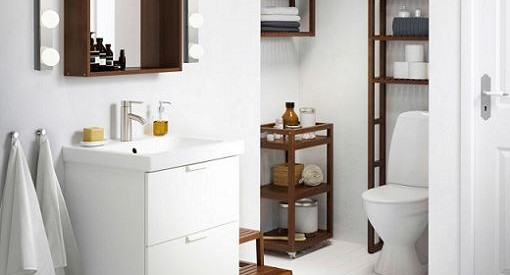 accesorios del cuarto de baño