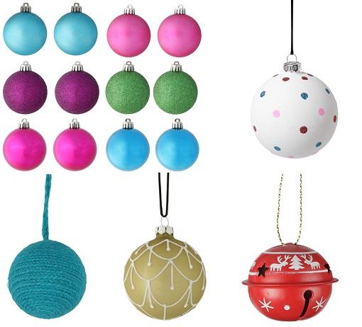 Bolas de Navidad El Corte Inglés