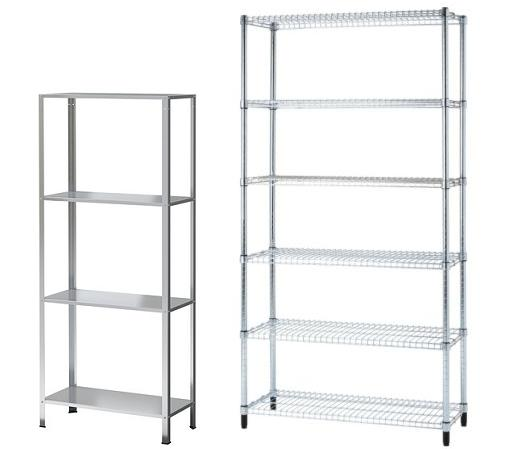 Estanter as met licas baratas de ikea leroy merlin for Estanterias metalicas modulares leroy merlin