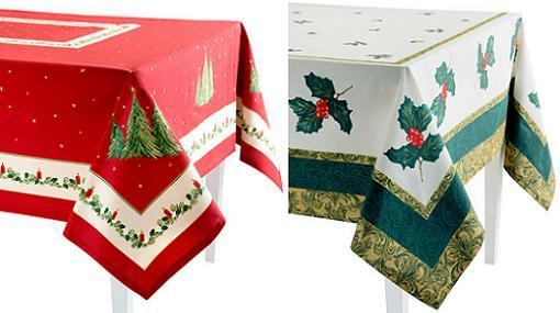 Especial manteles de navidad baratos de el corte ingl s for Adornos de navidad el corte ingles