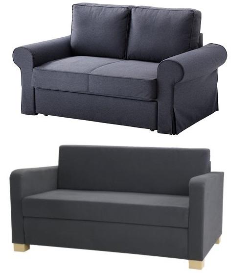 Los mejores sof s cama ikea una opci n barata y - Sofa dos plazas ikea ...