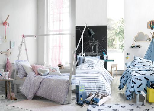 habitaciones infantiles h&m home 2015