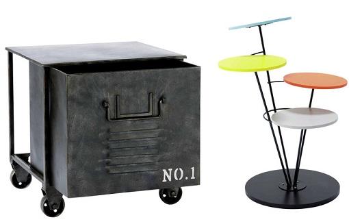 10 mesas auxiliares para el sal n pr cticas modernas y for Mesas de salon modernas baratas