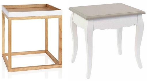 10 mesas auxiliares para el sal n pr cticas modernas y - Mesitas auxiliares de cristal ...