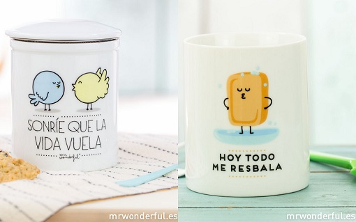 tazas de te mr wonderful