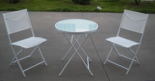 bricor jardin mesa sillas terraza