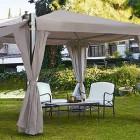 Cenadores y p rgolas alcampo una forma barata de dar - Pergolas jardin carrefour ...